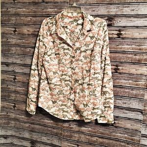Cute button down crown and ivy shirt